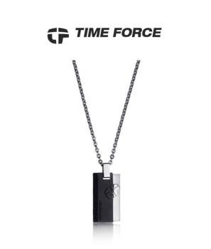 گردنبند تایم فورس مردانه مدل  TS5111CS