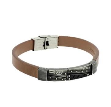 دستبند تایم فورس مردانه مدل  TS5117BL23