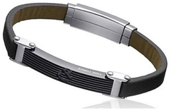 دستبند تایم فورس مردانه مدل  TS5108BL23