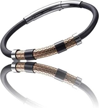 دستبند تایم فورس مردانه مدل  TS5099BR23
