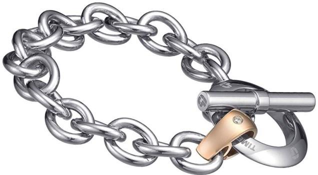 دستبند تایم فورس زنانه مدل  TS5016BS18