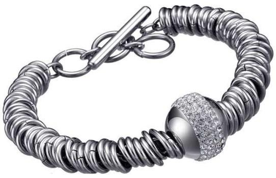 دستبند تایم فورس زنانه مدل  TS5061BS19