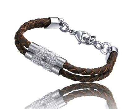 دستبند تایم فورس زنانه مدل  TS5066BL19