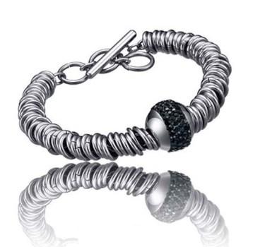 دستبند تایم فورس زنانه مدل  TS5062BS19
