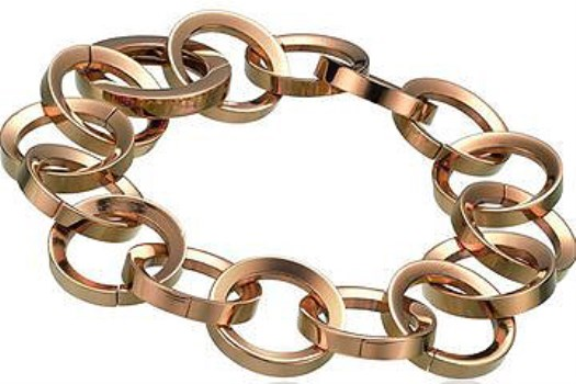 دستبند تایم فورس زنانه مدل  TS5144BR