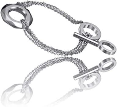 دستبند تایم فورس زنانه مدل  TS5017BS19