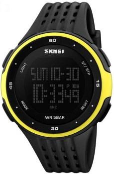 ساعت مچی اسکمی مردانه مدل S1219-yellow