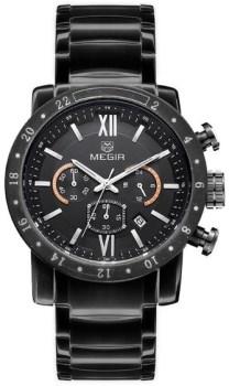 ساعت مچی مگیر مردانه مدل MS3008GBK-1