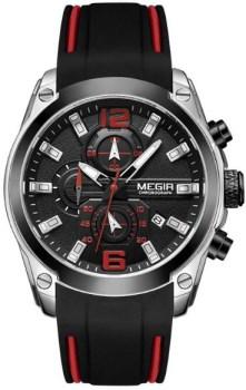 ساعت مچی مگیر مردانه مدل MN2063G-BK-1