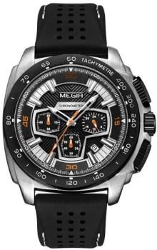 ساعت مچی مگیر مردانه مدل MN2056GS-BK-1