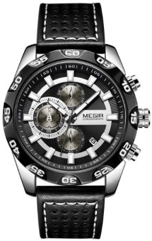 ساعت مچی مگیر مردانه مدل ML2096GS-BK-1