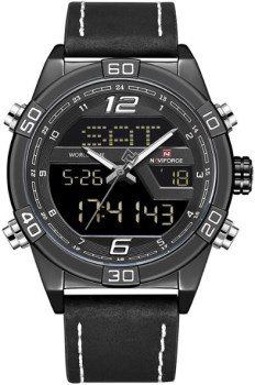 ساعت مچی نیوی فورس مردانه مدل NF9128 BWB