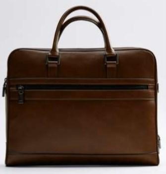 کیف اداری زارا مردانه مدل 3418-520-BROWN